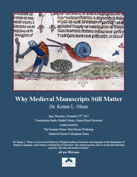 Why Medieval Manuscripts Still Matter