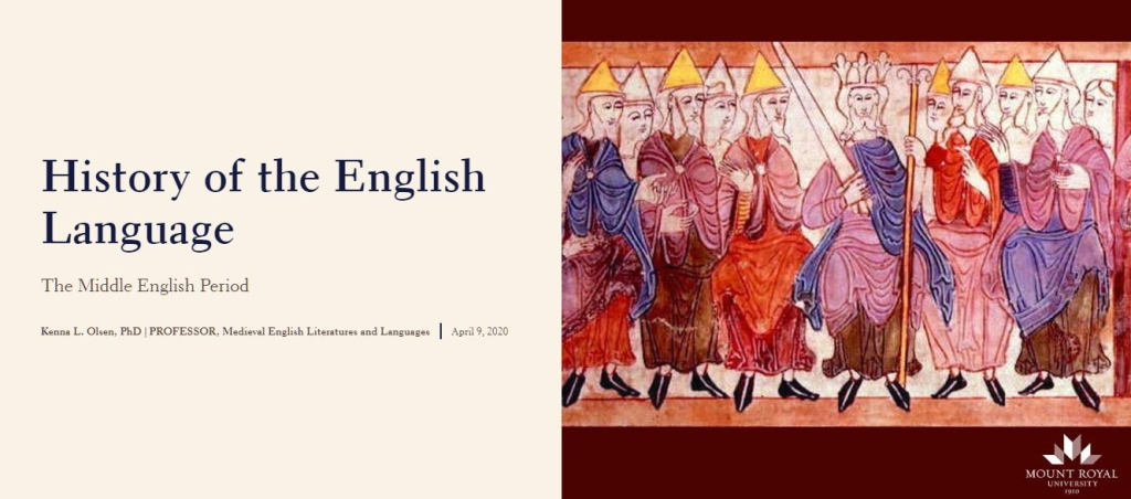 History of the English Language Middle English Period thumbnail